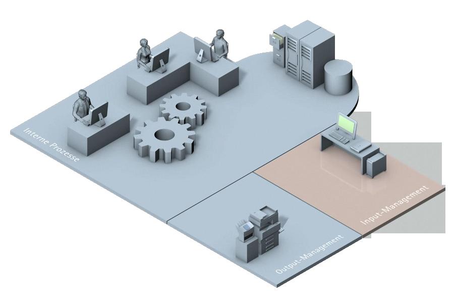 Innerhalb der Informationslogistik beschäftigt sich das Input-Management damit, wie eingehende Informationen optimal bearbeitet werden, damit sie den richtigen Empfängern, in der optimalen Form, in den richtigen Anwendungen schnell zur Verfügung gestellt werden.