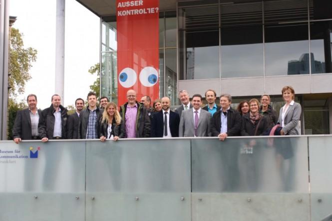 """Seminarteilnehmer des ersten Seminars """"Moderne Postbearbeitung"""" der DVPT-Akademie in Offenbach"""