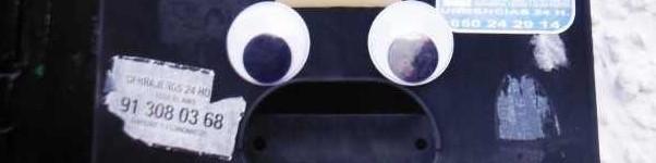 Briefkasten mit Gesicht